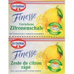 Dr. Oetker Finesse - geriebene Zitronenschale