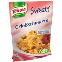 Knorr Sweety Grießschmarrn österreichische Spezialität