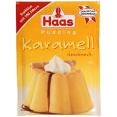 Haas Pudding Karamell - Geschmack