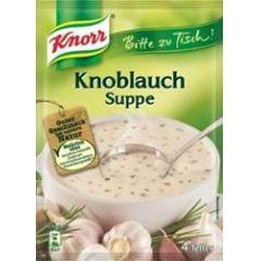 Knorr Bitte zu Tisch Knoblauchsuppe