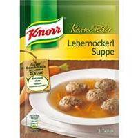 Knorr Kaiser Teller Lebernockerl Suppe