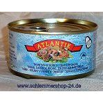 Atlantik Thunfischstücke in pikanter Sauce