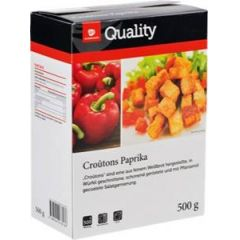 Quality Croutons großer Schnitt Paprika 500 g