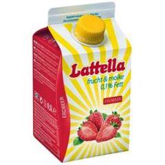 Lattella Molkedrink Erdbeer 500 ml