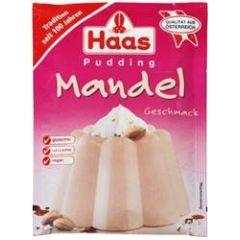 Haas Pudding Mandel-Geschmack