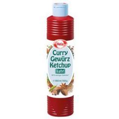 Hela Curry Gewürz Ketchup delikat light 800 ml