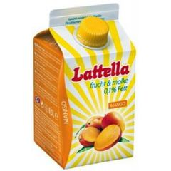 Lattella Molkedrink Mango 500 ml