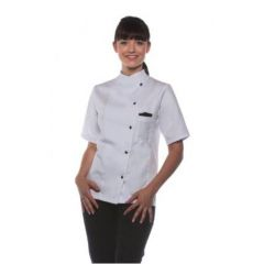 Ladies Chef Jacket Greta White 36