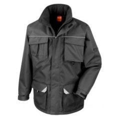 Work-Guard Sabre Long Coat Black 2XL