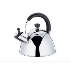 Wasserkessel Flötenkessel Earl 2,5 Liter Wasserkocher Edelstahl Induktion Teekessel alle Herdarten
