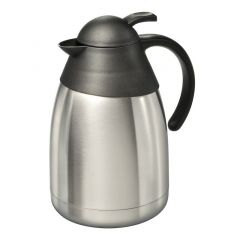 Isolierkanne Jones 1,5 Liter Thermosflasche Thermoskanne Isolierflasche Kanne Edelstahl Kanne Tee