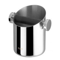 Abschlagbehälter 10,5 cm Edelstahl Abklopfbehälter für Kaffeesatz Abschlagbox Knockbox Zubehör