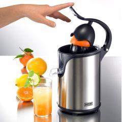 Citrus King Junior Zitruspresse Saftpresse Orangenpresse Obstpresse Orangen-Saft-Presse Edelstahl