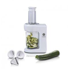 Spiralschneider elektrisch weiß Julienne Schneider 16310184 elektrisch Gemüsespaghetti