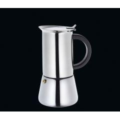 Espressokocher Rigoletto für 6 Tassen Espresso Mokka kochen Edelstahl Kaffee Kocher