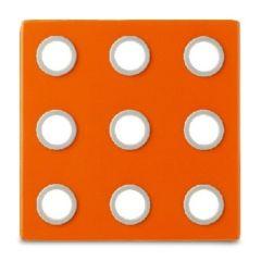 Topfuntersetzer Dominio orange Untersetzer Topfunterlage