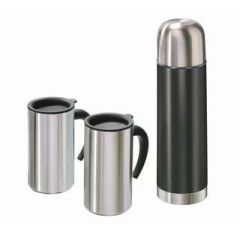Thermo-Set Tim Thermoset Thermosflasche Thermosbecher Edelstahlbehälter Behälter Flasche Thermo