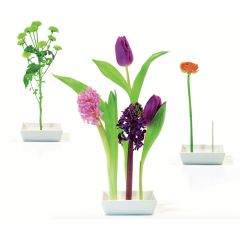 Vase Florida Tischdekoration Tischdeko Blumen Dekoration Tischvase