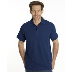 SNAP Polo Shirt Star - Gr.: L, Farbe: navy