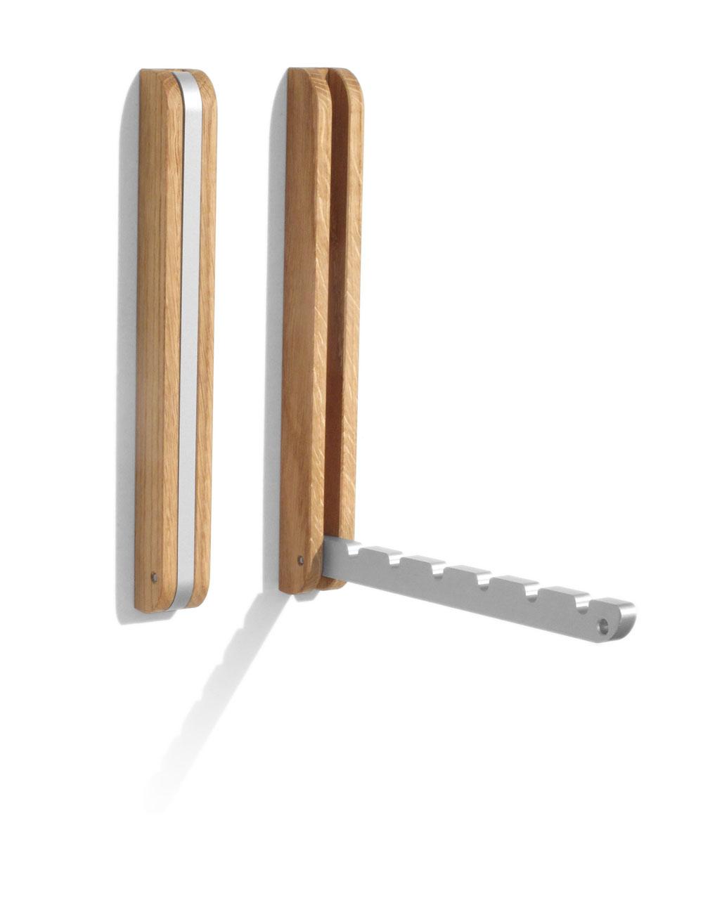 Gut gemocht Klappbarer Wandhaken aus - Eiche   Eiche von sidebyside-Design MZ35