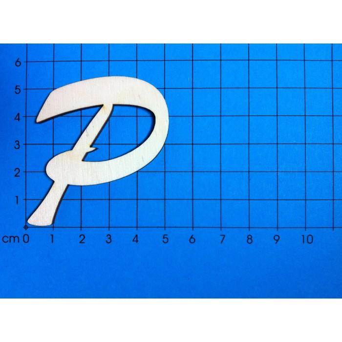 P in schreibschrift