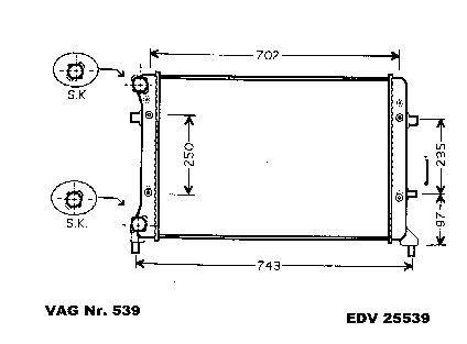 neu k hler vw golf 5 1k 1 4 16v fsi 1 6 1 6 16v. Black Bedroom Furniture Sets. Home Design Ideas