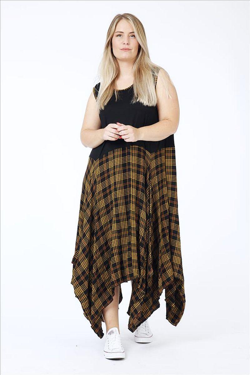 traumhaft zipfelige Lagenlook Kleider große Größen von AKH ...