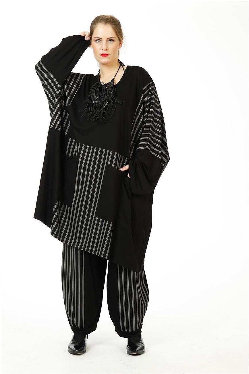 Lagenlook Tunika-Kleid Übergröße von AKH Fashion
