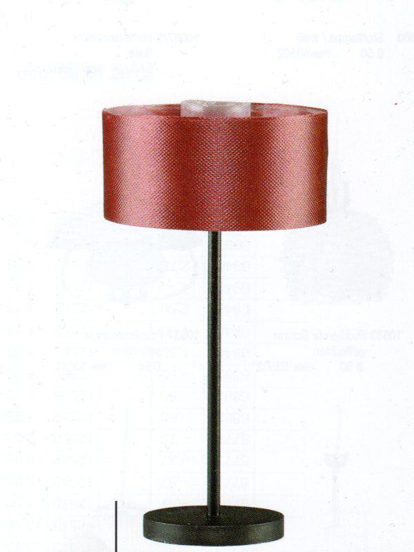Stehlampe mit weinroten stoffschirm puppenhaus for Lampen puppenhaus
