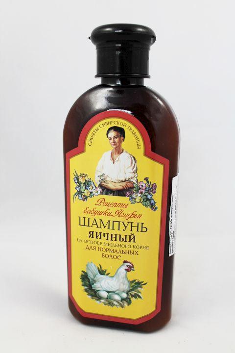 ei shampoo f r strapaziertes haar 350 ml haarw sche von babushka agafia. Black Bedroom Furniture Sets. Home Design Ideas
