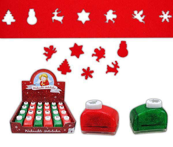 Knöpfe Weihnachtsmotive.Stanzer Motiv Locher Weihnachtsmotive Von Trendhaus