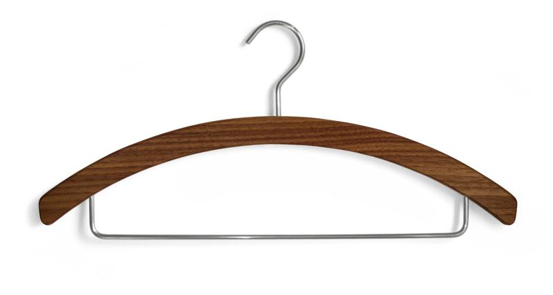 hosenb gel aus holz nussbaum von sidebyside design. Black Bedroom Furniture Sets. Home Design Ideas