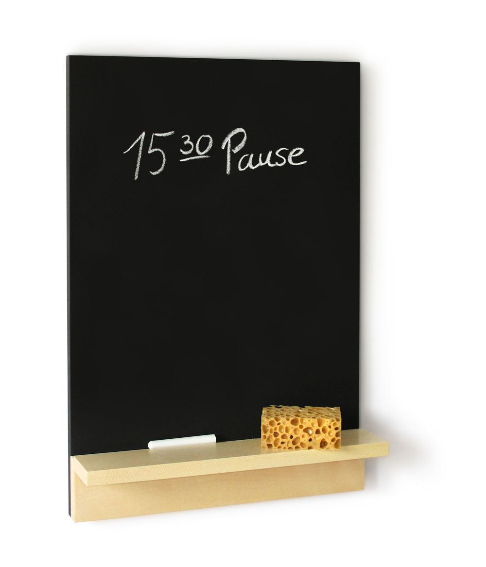 tafel nik memoboard mit kreide und schw mmchen von sidebyside design. Black Bedroom Furniture Sets. Home Design Ideas
