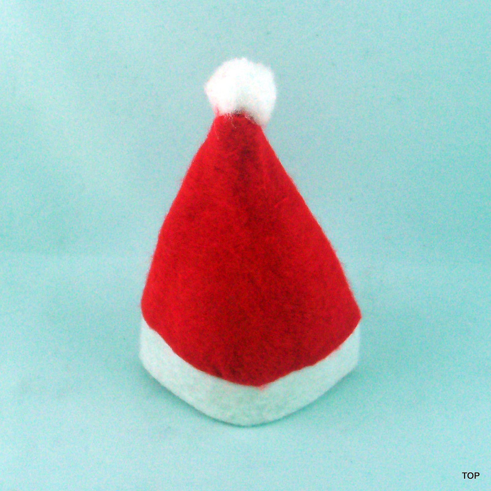 weihnachtsm tze 10er pack minim tze christbaumschmuck. Black Bedroom Furniture Sets. Home Design Ideas