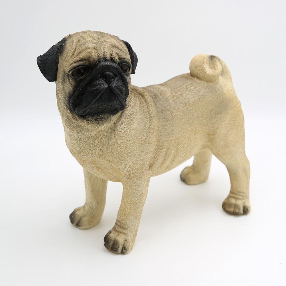 hundefiguren mops tierfigur dekoration dekoartikel