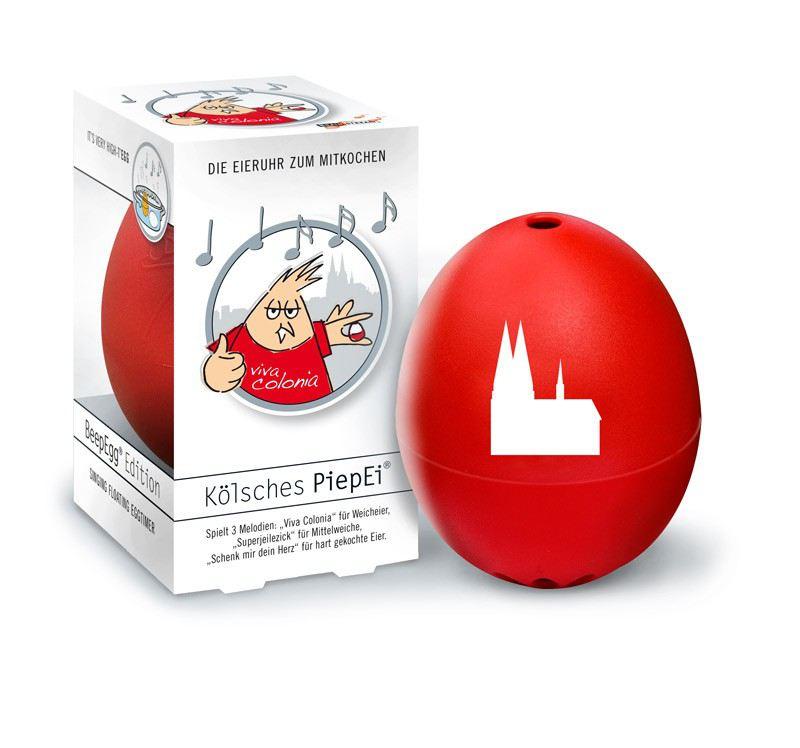 Piepei k lsch k lsches piep ei eierkocher eieruhr 3 in 1 fr hst cksei eier kochen k ln - Ei kochen mit eierkocher ...