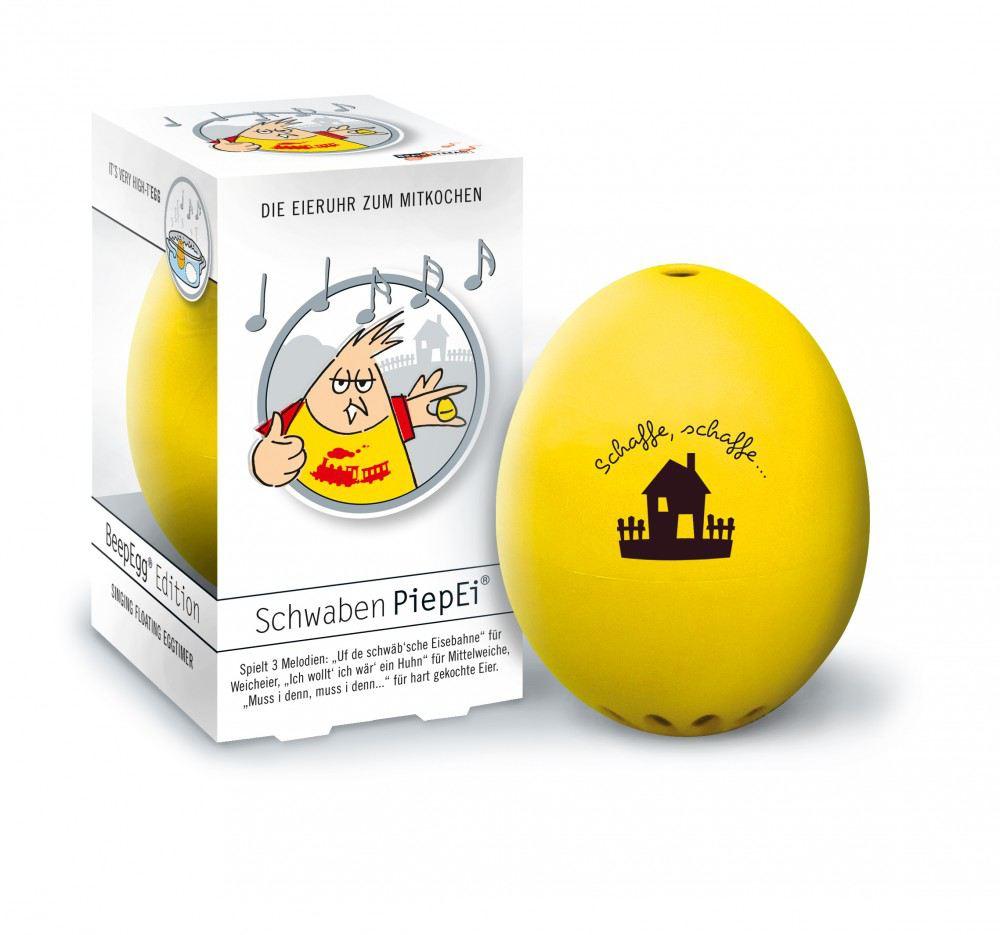 Piepei schwaben piep ei eierkocher eieruhr 3 in 1 fr hst cksei eier kochen schwabenland - Ei kochen mit eierkocher ...
