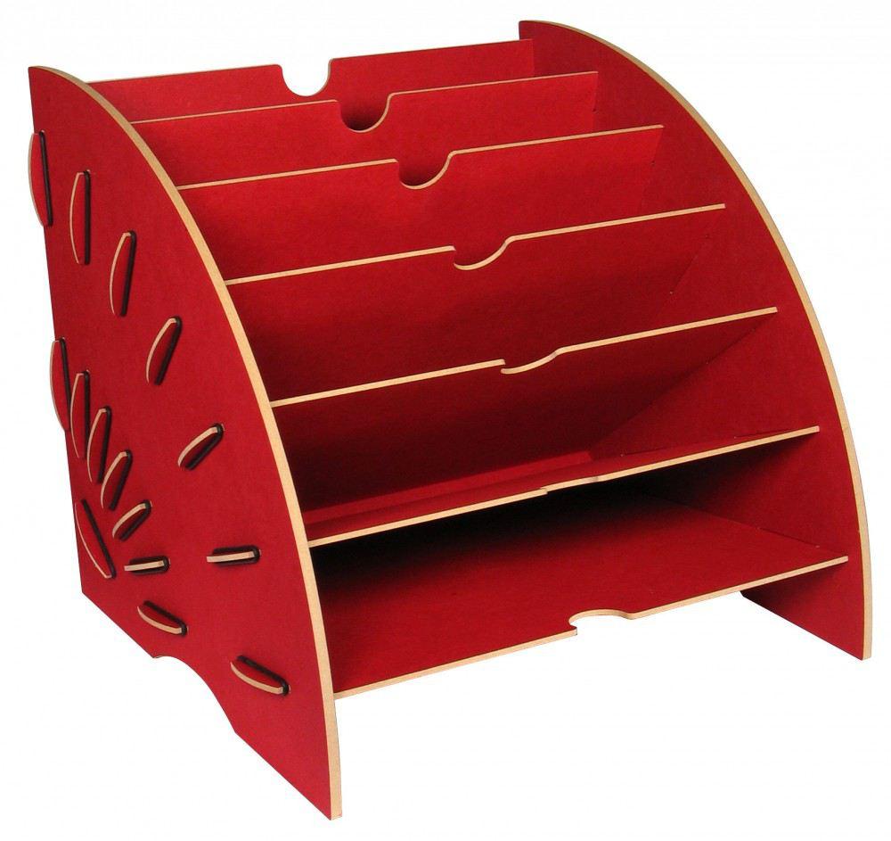ablage magazin rot ablagekorb briefablage ordnungssystem zeitungsst nder zeitschriftenst nder. Black Bedroom Furniture Sets. Home Design Ideas