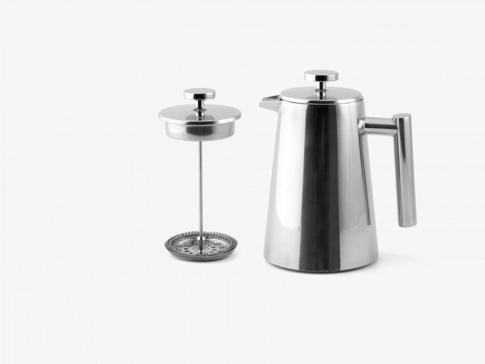 pressfilterkanne kaffeebereiter kaffeedr cker french press cafetiere edelstahl thermo. Black Bedroom Furniture Sets. Home Design Ideas