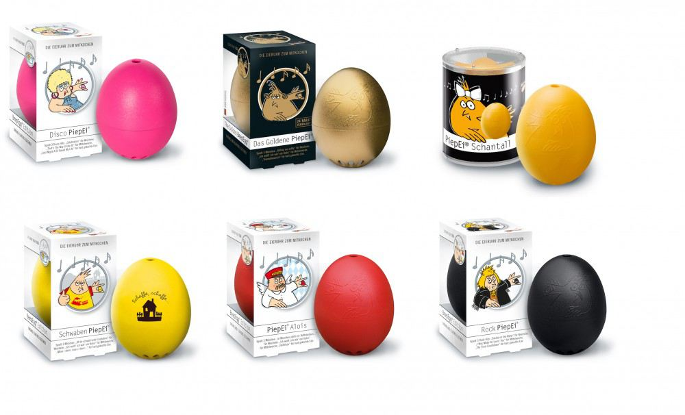 Piepei f r 3 h rtegrade verschiedene modelle eierkocher piep ei eieruhr fr hst cksei kochen - Ei kochen mit eierkocher ...