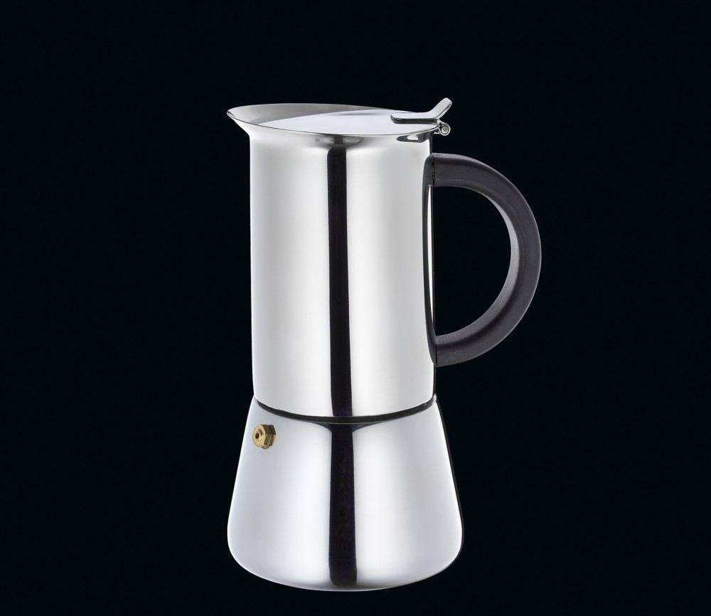 espressokocher rigoletto f r 6 tassen espresso mokka kochen edelstahl kaffee kocher. Black Bedroom Furniture Sets. Home Design Ideas