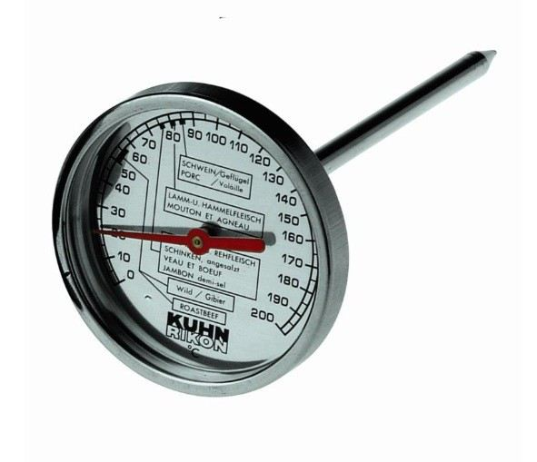 kuhn rikon bratenthermometer thermometer ofen backofen fleischthermometer braten. Black Bedroom Furniture Sets. Home Design Ideas