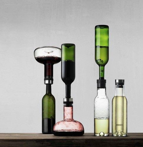 dekantierkaraffe wine breather cool breather set. Black Bedroom Furniture Sets. Home Design Ideas