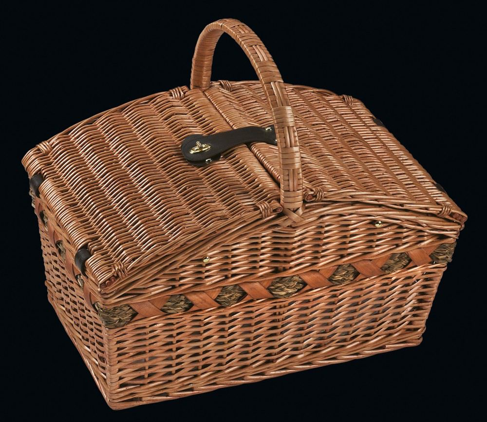 picknickkorb verbania deluxe korb picknickzubeh r picknick piknik picknickk rbe tragekorb set. Black Bedroom Furniture Sets. Home Design Ideas