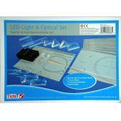 LED-Strahler und Acryllinsen-Set (engl. Anleitung)