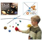 Solarsystem groß, Mobile-Baukasten