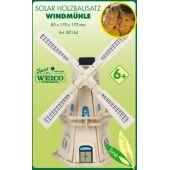 Weico Solar Holzbausatz Windmühle