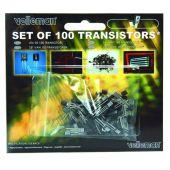 Velleman Transistor Sortiment ca.100-teilig