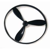 Ring-Propeller, 3-flügelig, schwarz