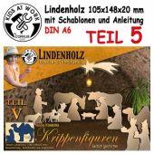 Schnitzholz Krippenfiguren König mit Kamel